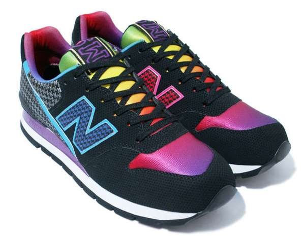 New Balance Rainbow Colored Shoes